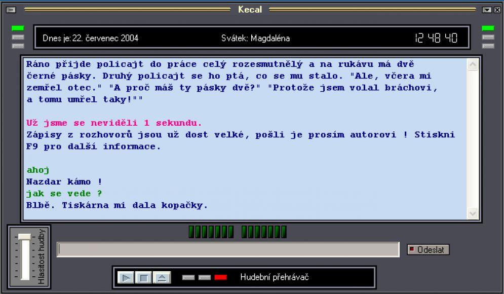 Screenshot ze hry Kecal - Recenze-her.cz