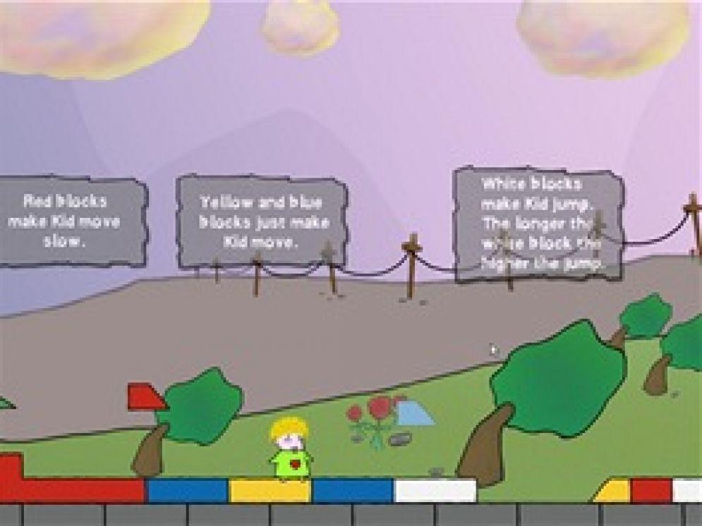 Screenshot ze hry Kid the World Saver - Recenze-her.cz