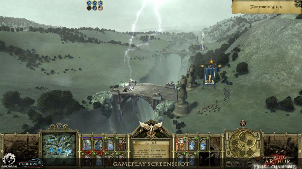 Screenshot ze hry King Arthur: Fallen Champions - Recenze-her.cz