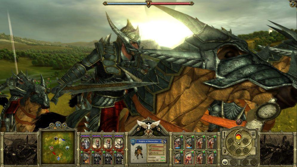 Screenshot ze hry King Arthur: The Druids - Recenze-her.cz