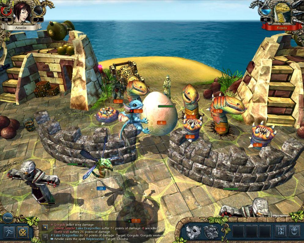 Screenshot ze hry King´s Bounty: Crossworlds - Recenze-her.cz