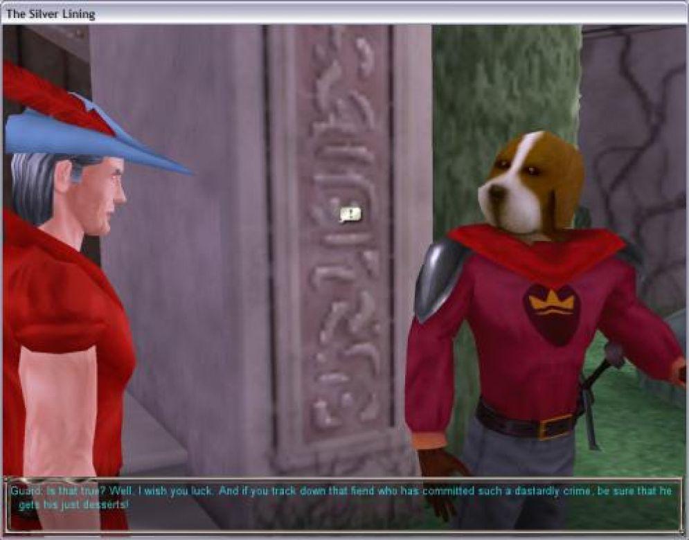 Screenshot ze hry King´s Quest IX: The Silver Lining - Recenze-her.cz