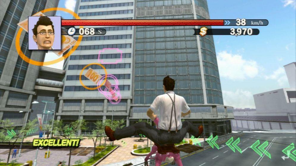 Screenshot ze hry Kung Fu Rider - Recenze-her.cz