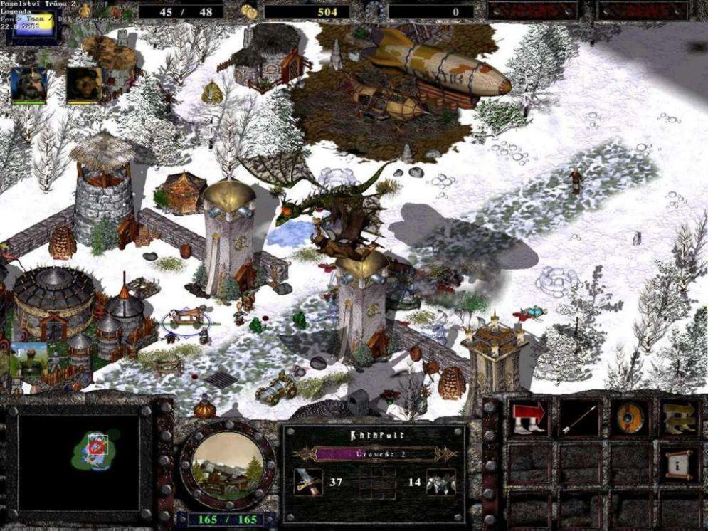 Screenshot ze hry Legenda: Poselství trůnu 2 - Recenze-her.cz
