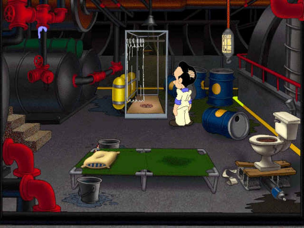 Screenshot ze hry Leisure Suit Larry 7: Love for Sail! - Recenze-her.cz