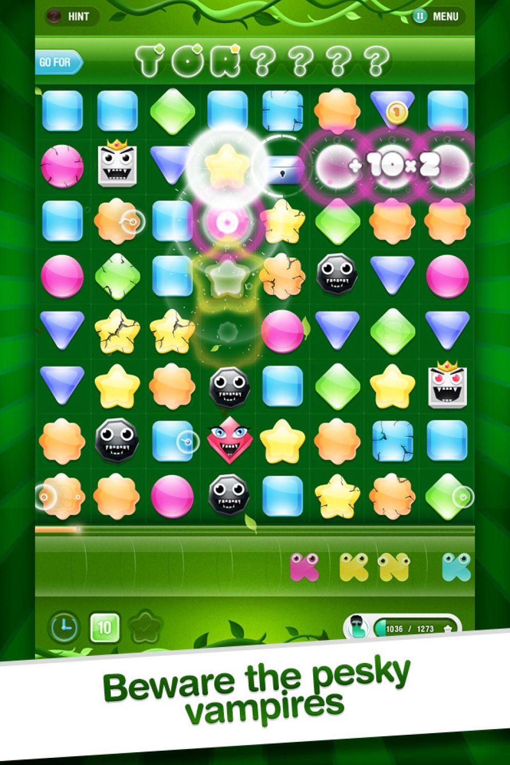 Screenshot ze hry LETZ Match! - Recenze-her.cz