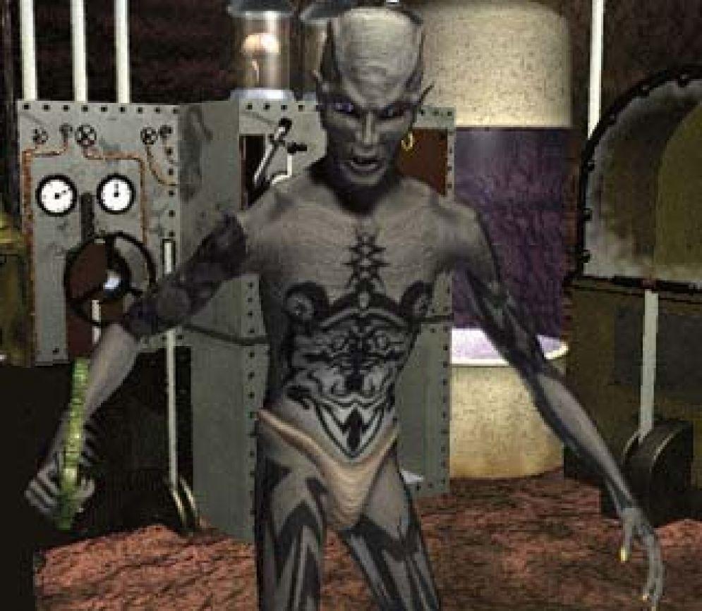 Screenshot ze hry  Lighthouse: The Dark Being - Recenze-her.cz