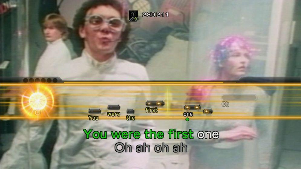 Screenshot ze hry Lips: I love 80s - Recenze-her.cz