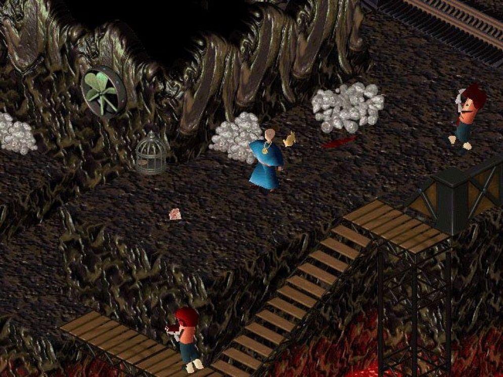 Screenshot ze hry Little Big Adventure 2 - Recenze-her.cz