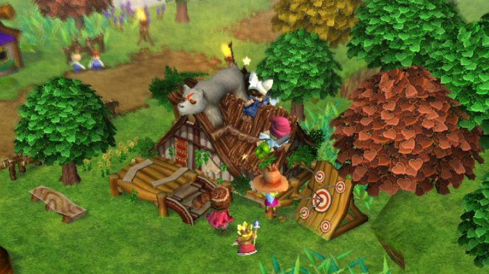 Screenshot ze hry Little Kings Story - Recenze-her.cz