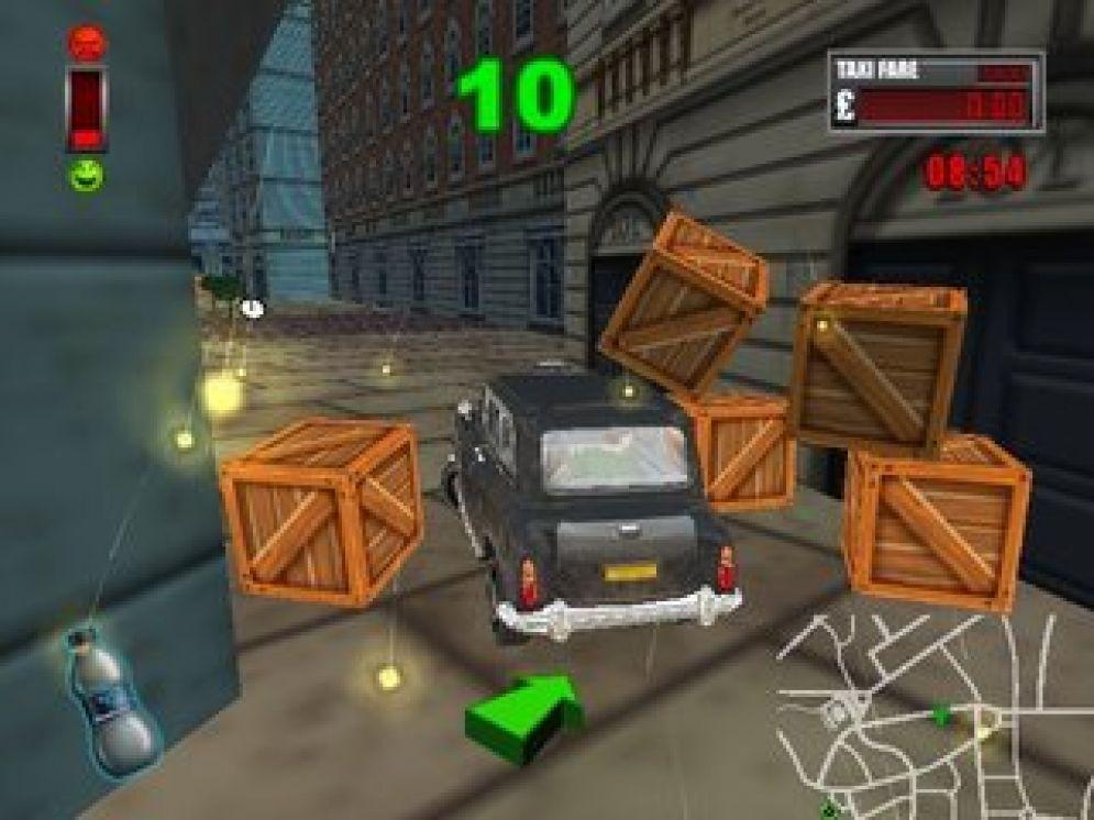 Screenshot ze hry London Taxi Rush Hour - Recenze-her.cz