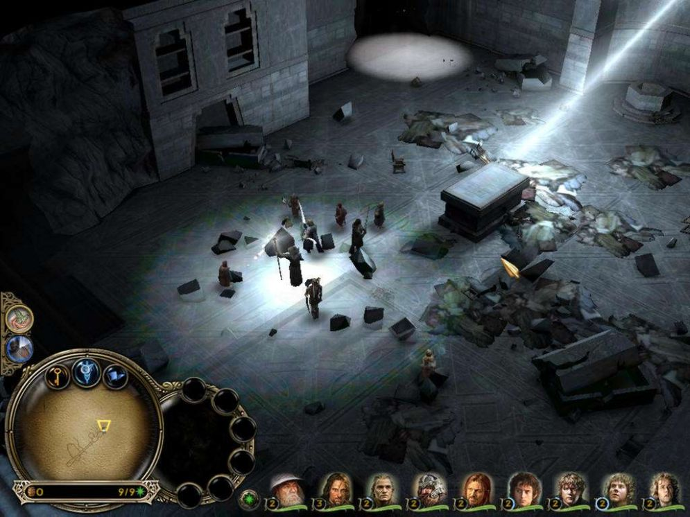 Screenshot ze hry The Lord of the Rings: The Battle For Middle-Earth - Recenze-her.cz