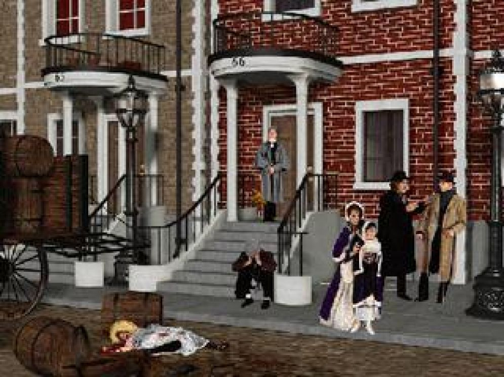 Screenshot ze hry Lost Files of S. Holmes: Case of The Rose Tattoo - Recenze-her.cz