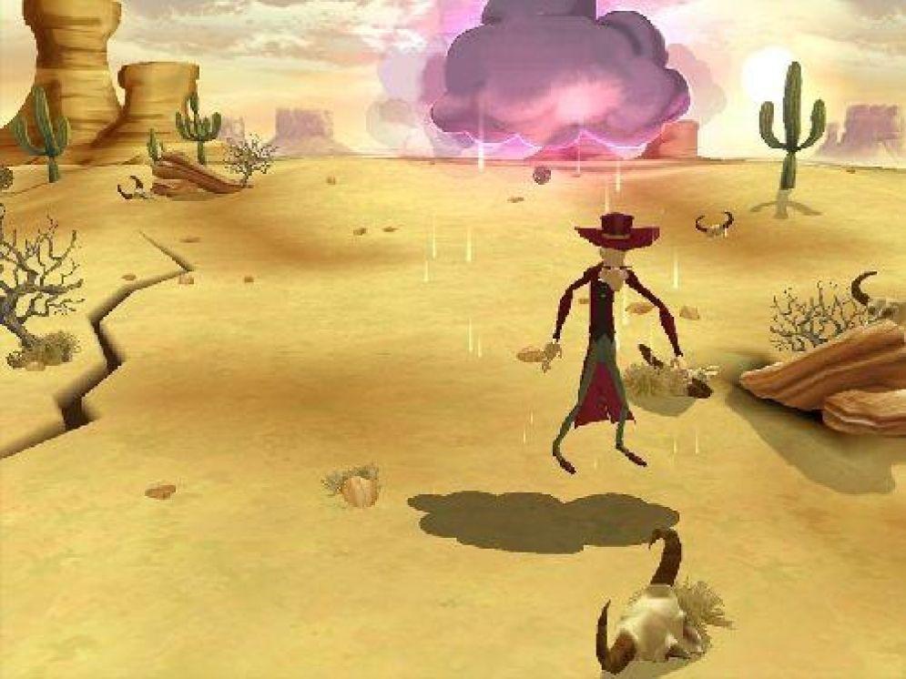 Screenshot ze hry Lucky Luke: Go West! - Recenze-her.cz