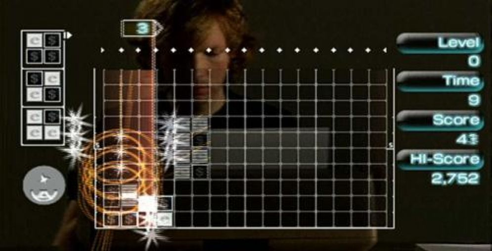 Screenshot ze hry Lumines II - Recenze-her.cz