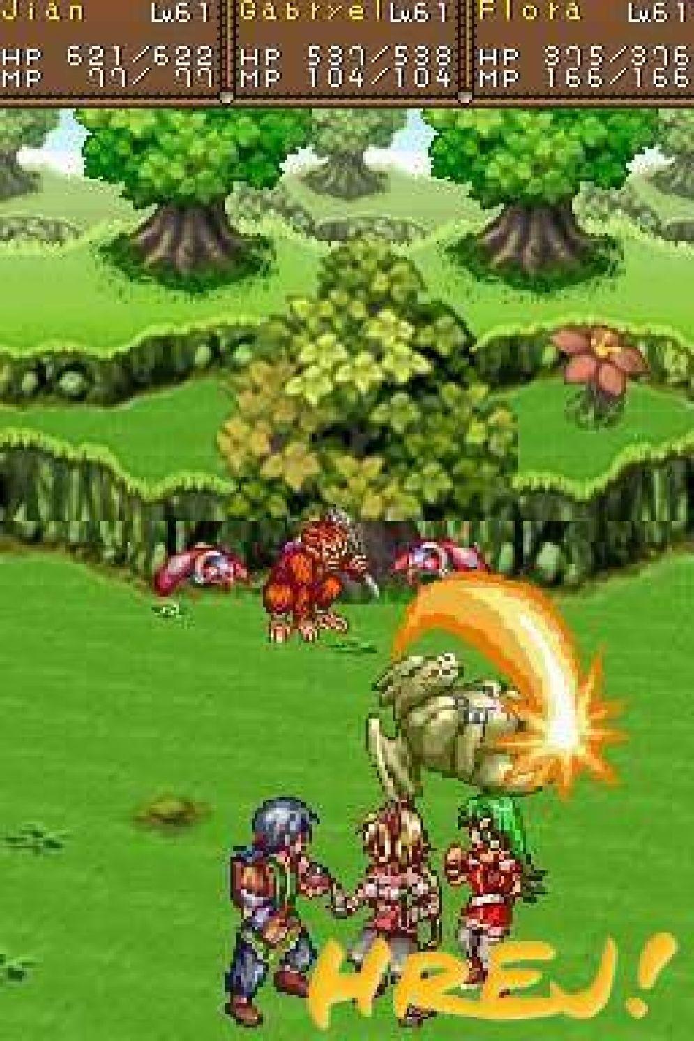 Screenshot ze hry Lunar: Dragon Song - Recenze-her.cz