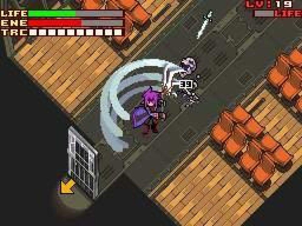 Screenshot ze hry Lunar Knights - Recenze-her.cz