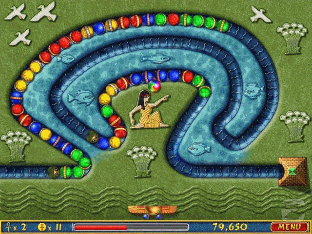 Screenshot ze hry Luxor - Recenze-her.cz