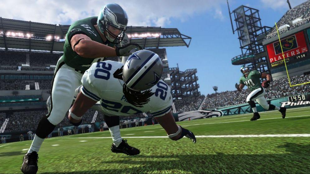 Screenshot ze hry Madden NFL 07 - Recenze-her.cz