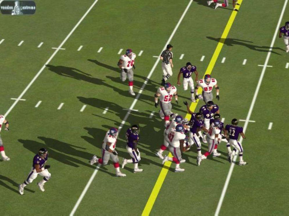 Screenshot ze hry Madden NFL 02 - Recenze-her.cz