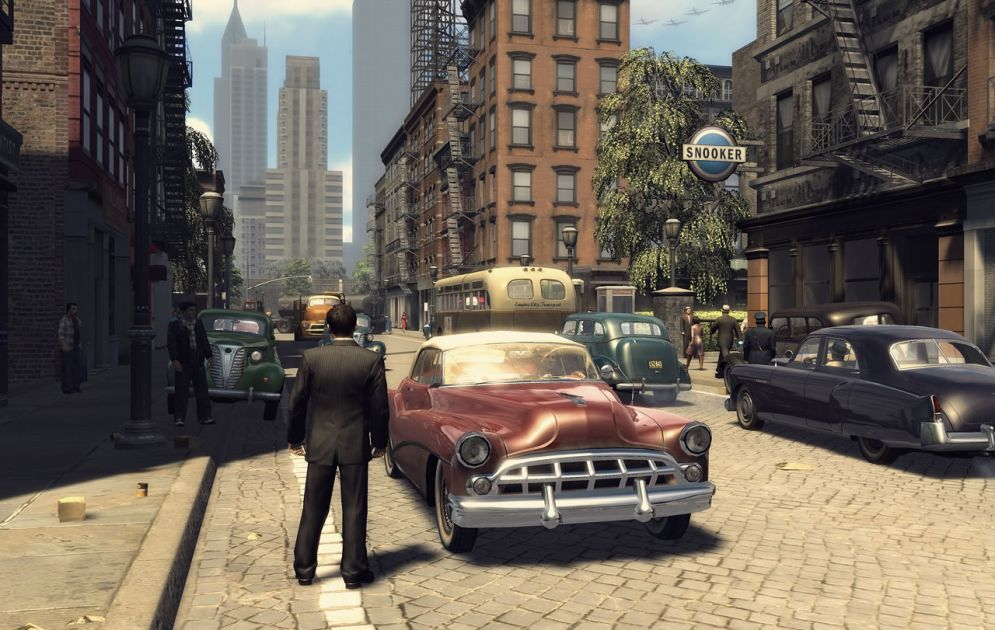 Screenshot ze hry Mafia 2 - Recenze-her.cz