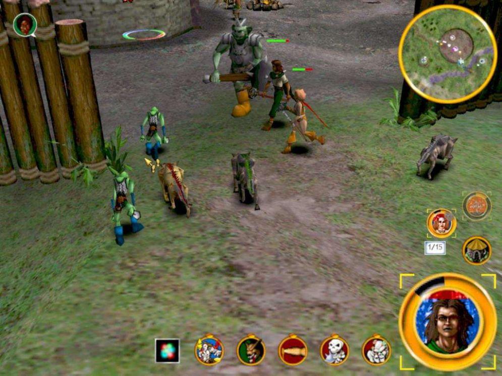 Screenshot ze hry Magic & Mayhem: The Art of Magic - Recenze-her.cz