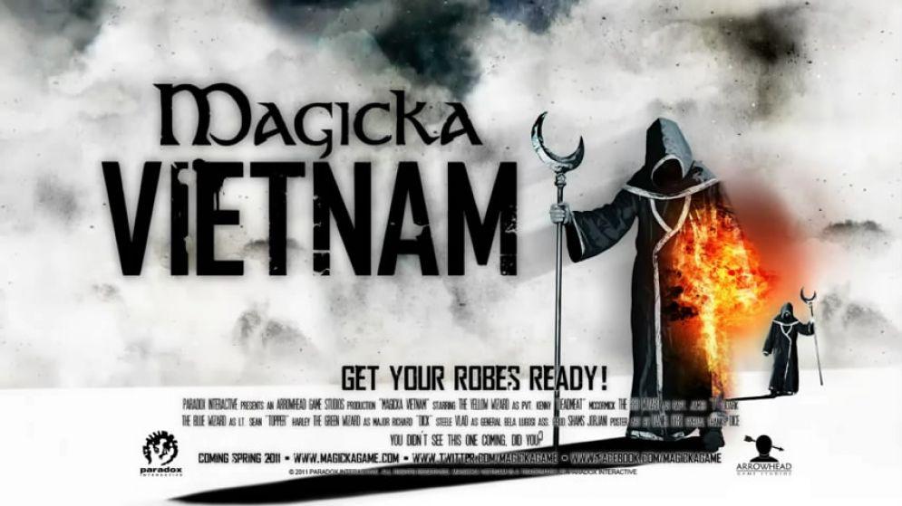 Screenshot ze hry Magicka: Vietnam - Recenze-her.cz