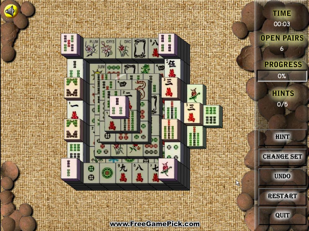 Screenshot ze hry Mahjong City - Recenze-her.cz