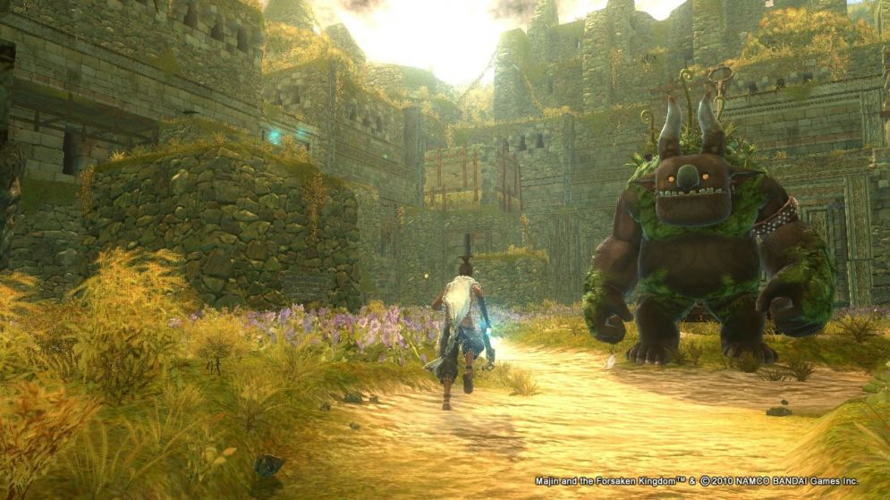 Screenshot ze hry Majin and The Forsaken Kingdom - Recenze-her.cz