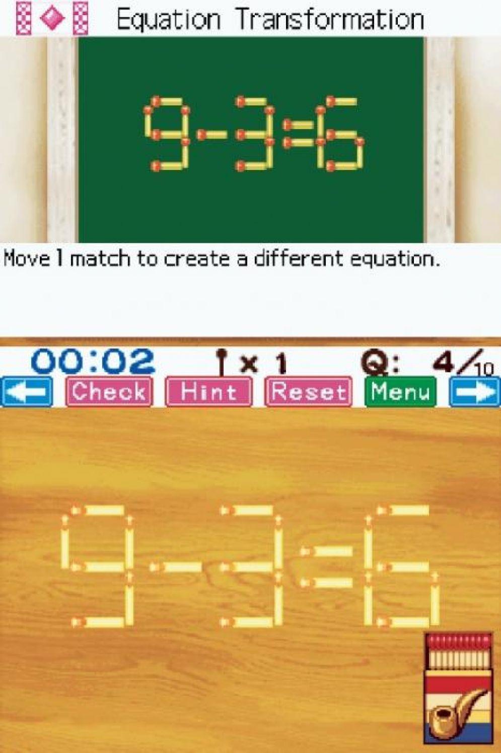 Screenshot ze hry Matchstick Puzzle by DS - Recenze-her.cz