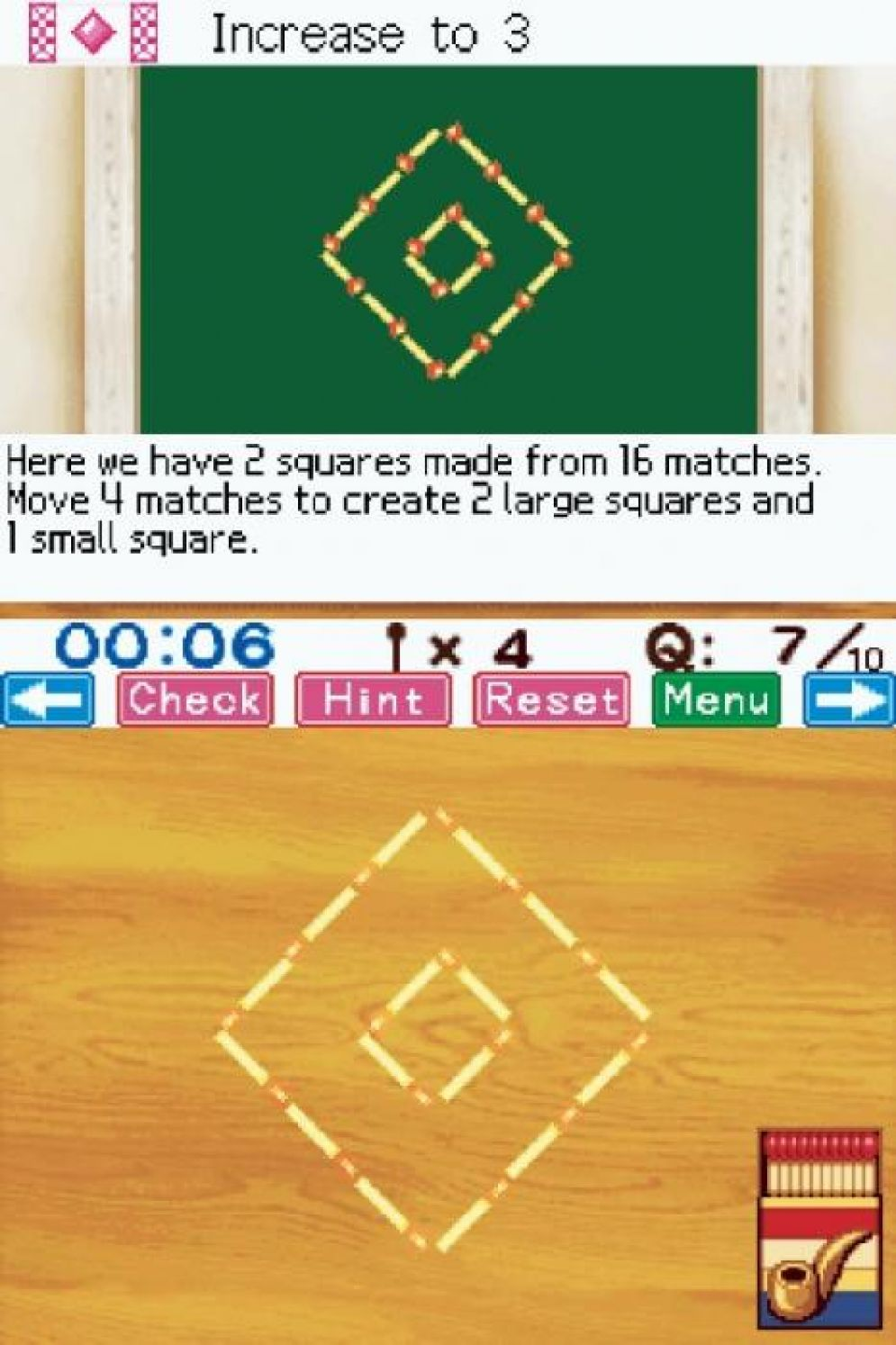 Screenshot ze hry Matchstick Puzzle by DS - Recenze-her.cz