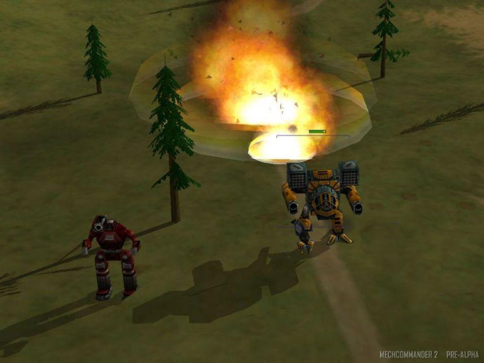 Screenshot ze hry Mech Commander 2 - Recenze-her.cz