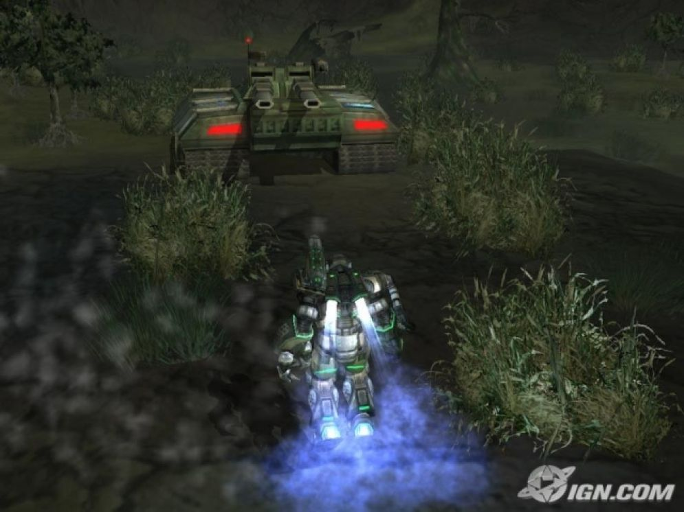 Screenshot ze hry MechAssault 2: Lone Wolf - Recenze-her.cz
