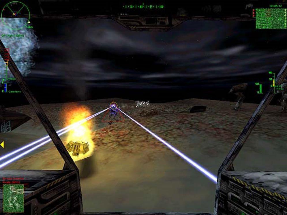 Screenshot ze hry MechWarrior 3: Pirate´s Moon  - Recenze-her.cz