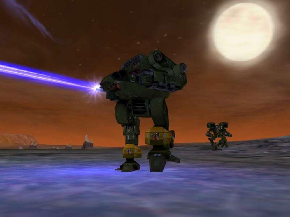 Screenshot ze hry MechWarrior 4: Black Knight - Recenze-her.cz