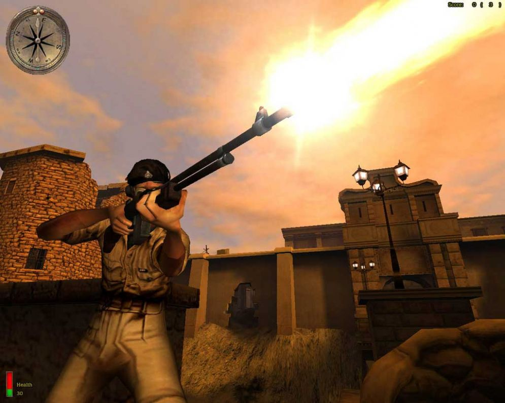 Screenshot ze hry Medal of Honor: Allied Assault Spearhead - Recenze-her.cz