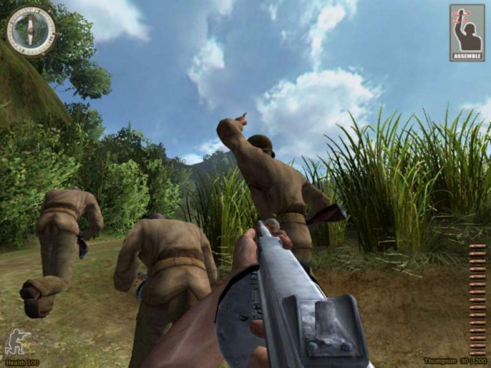 Screenshot ze hry Medal of Honor: Pacific Assault - Recenze-her.cz