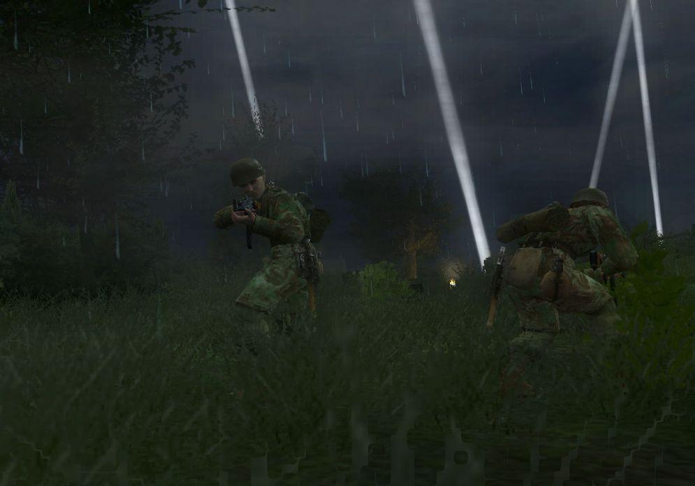 Screenshot ze hry Medal of Honor: Vanguard - Recenze-her.cz