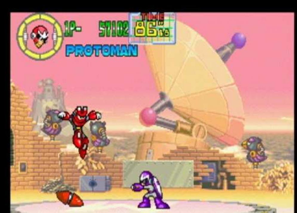 Screenshot ze hry MegaMan Anniversary Collection - Recenze-her.cz
