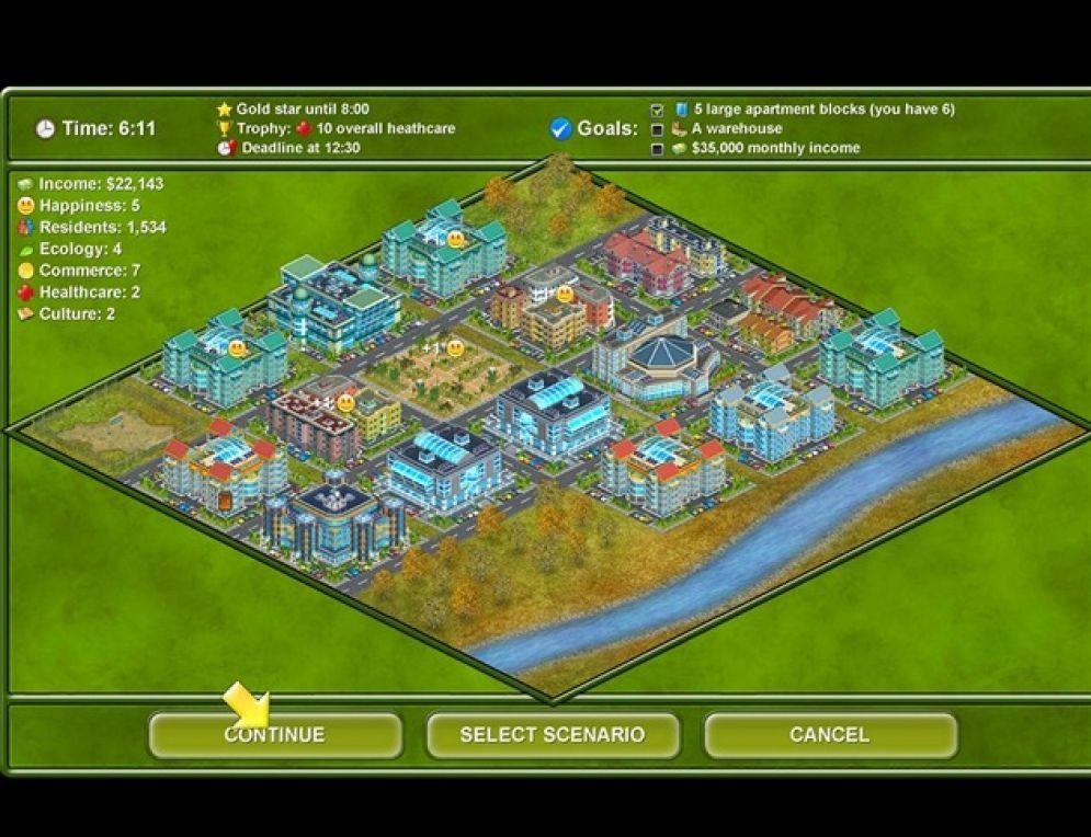 Screenshot ze hry Megapolis - Recenze-her.cz