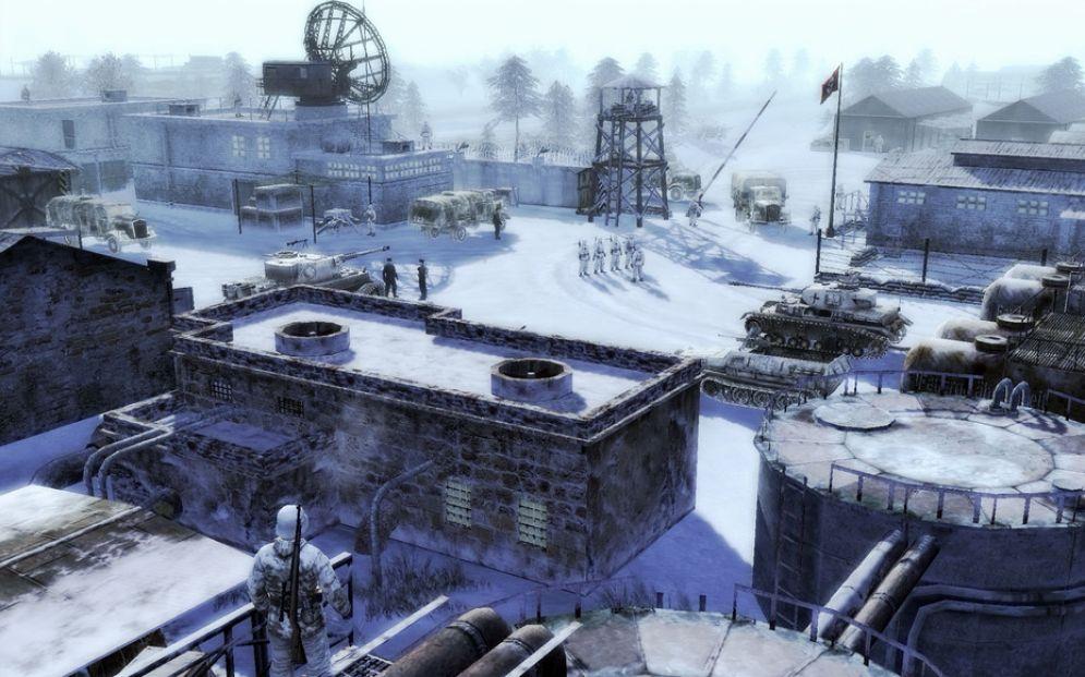 Screenshot ze hry Men of War: Condemned Heroes - Recenze-her.cz