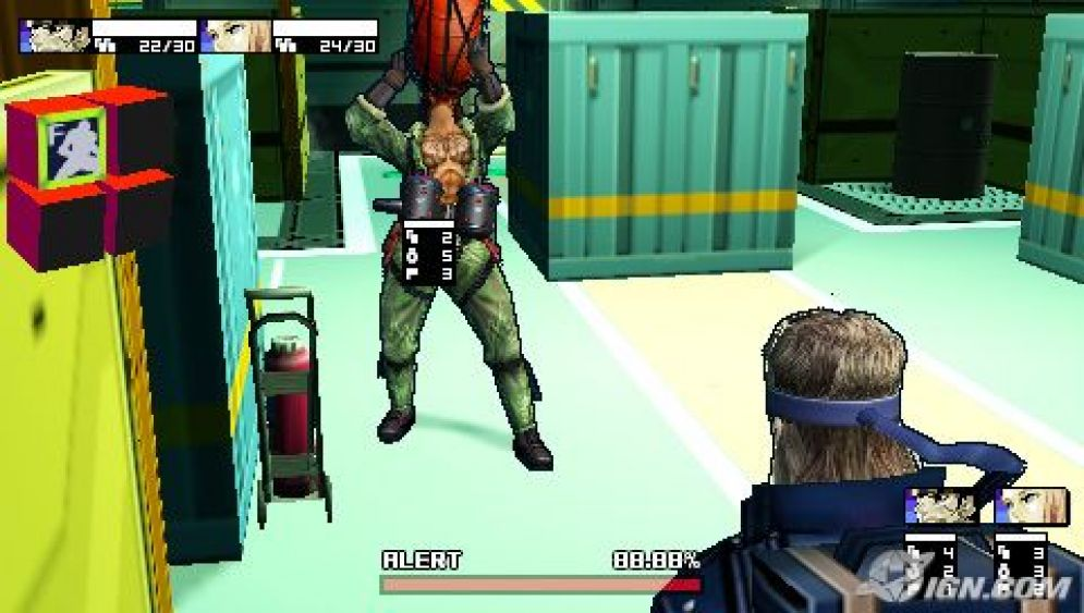 Screenshot ze hry Metal Gear Acid 2 - Recenze-her.cz