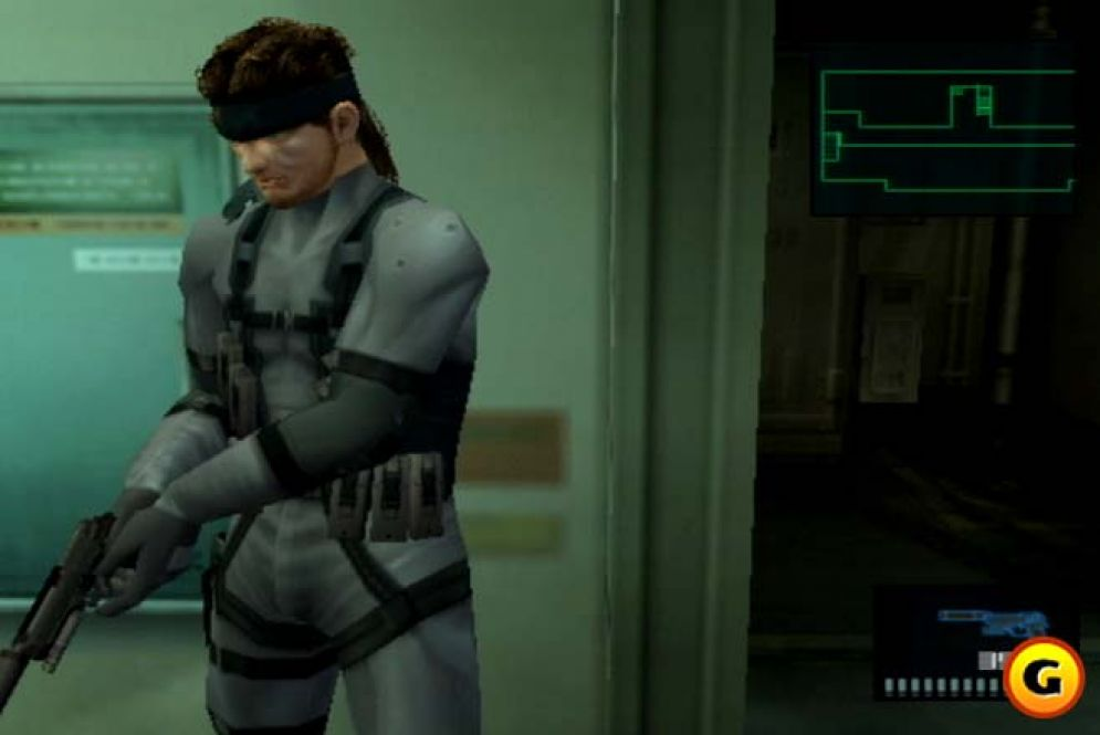 Screenshot ze hry Metal Gear Solid 2: Sons of Liberty - Recenze-her.cz