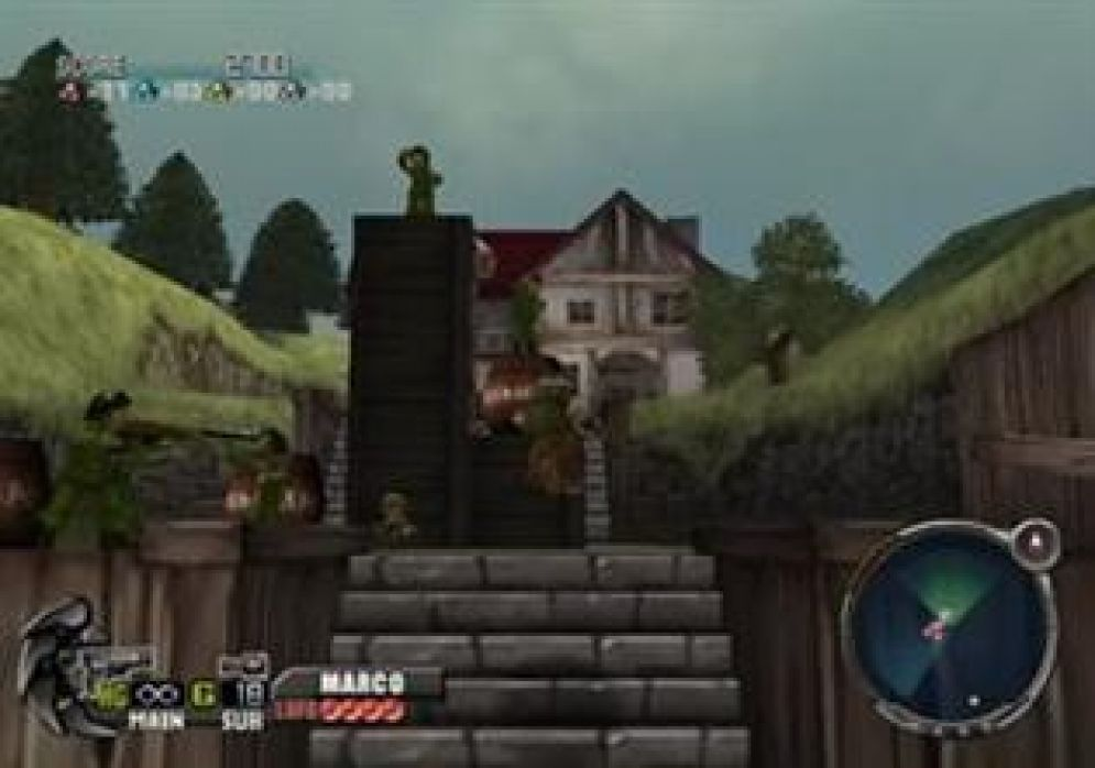 Screenshot ze hry Metal Slug 3D - Recenze-her.cz