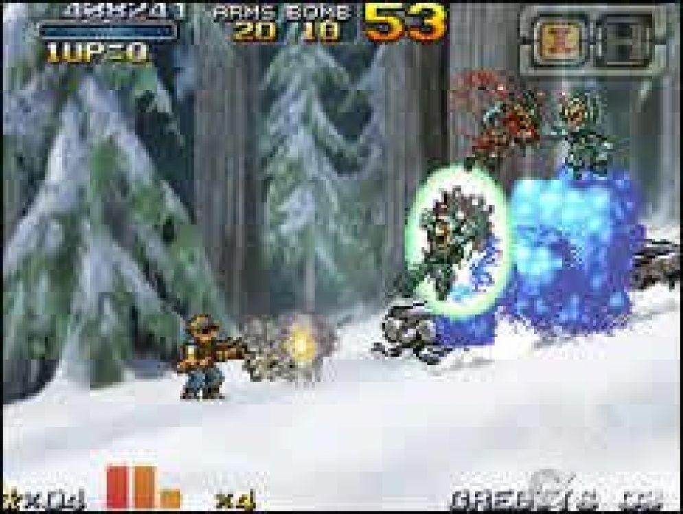 Screenshot ze hry Metal Slug 7 DS - Recenze-her.cz