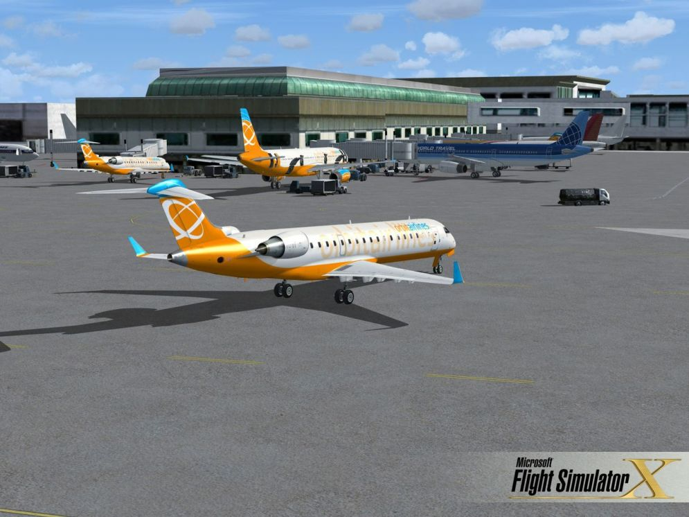 Screenshot ze hry Microsoft Flight Simulator X - Recenze-her.cz