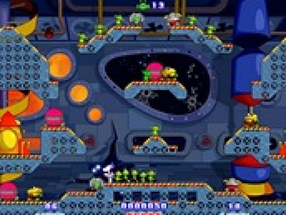 Screenshot ze hry Milky Bear: Rescue Rocket - Recenze-her.cz