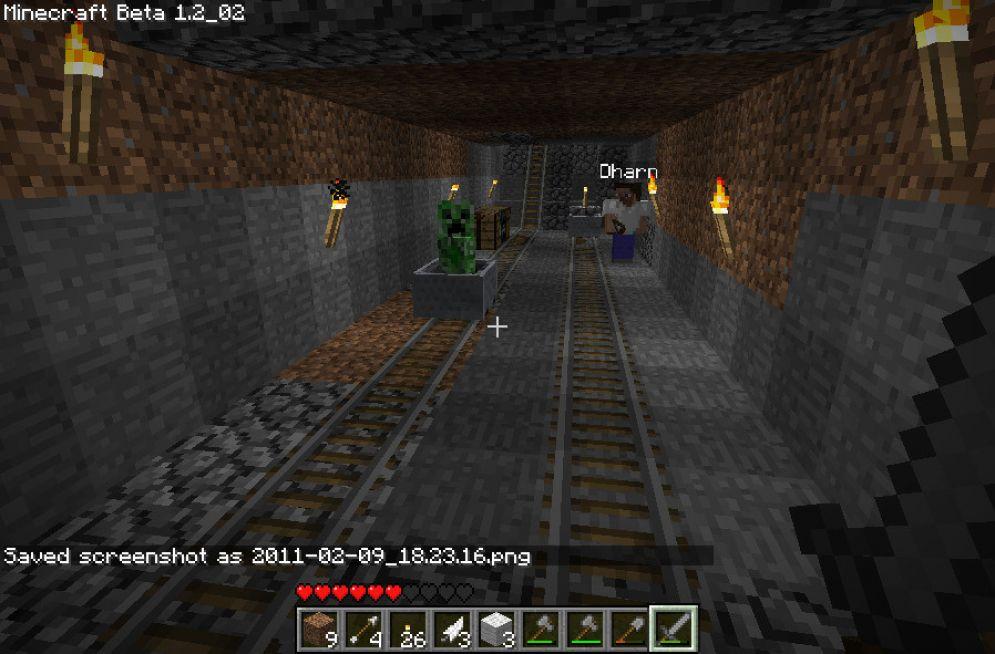 Screenshot ze hry Minecraft - Recenze-her.cz