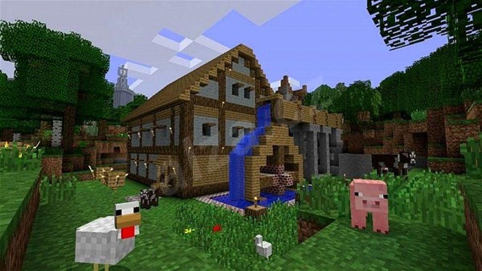 Screenshot ze hry Minecraft: Xbox 360 Edition - Recenze-her.cz
