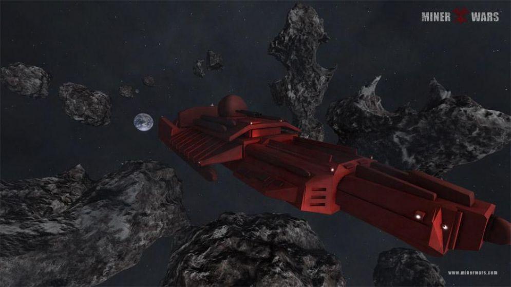 Screenshot ze hry Miner Wars - Recenze-her.cz